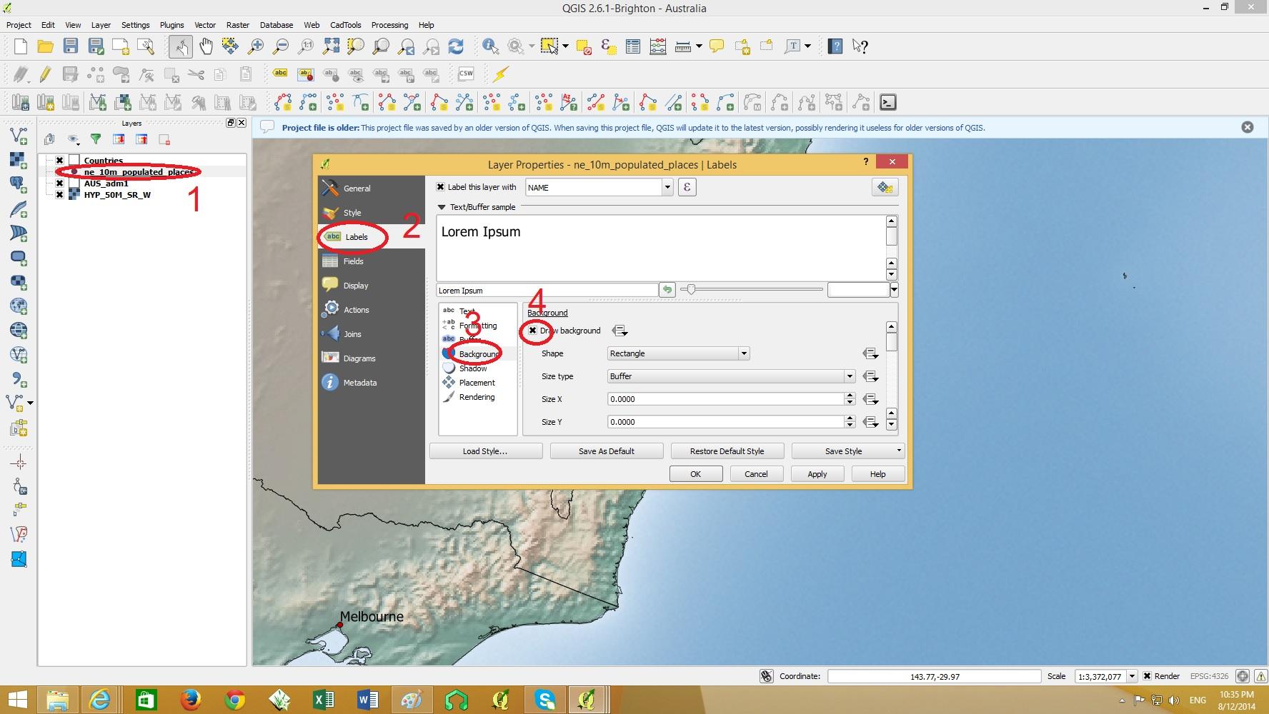 GIS MAP DESIGN USING QGIS